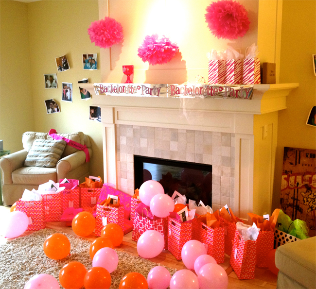 Katie 39 s bachelorette party isn 39 t that charming for Bachelor party decoration ideas