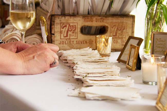 DIY :: Wedding Guest Book | Isn\'t That Charming