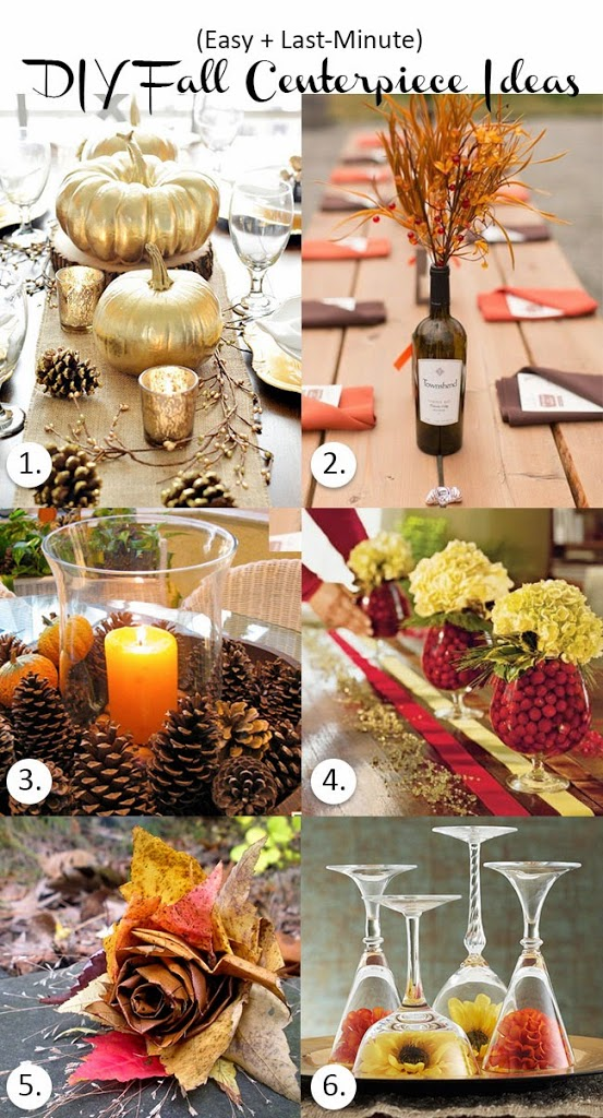 Last minute diy fall centerpiece ideas isn t that charming