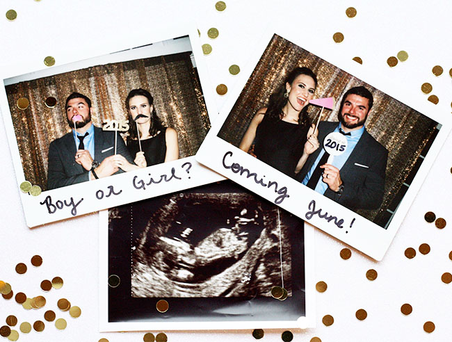 Baby Announcement, Ideas to announce pregnancy