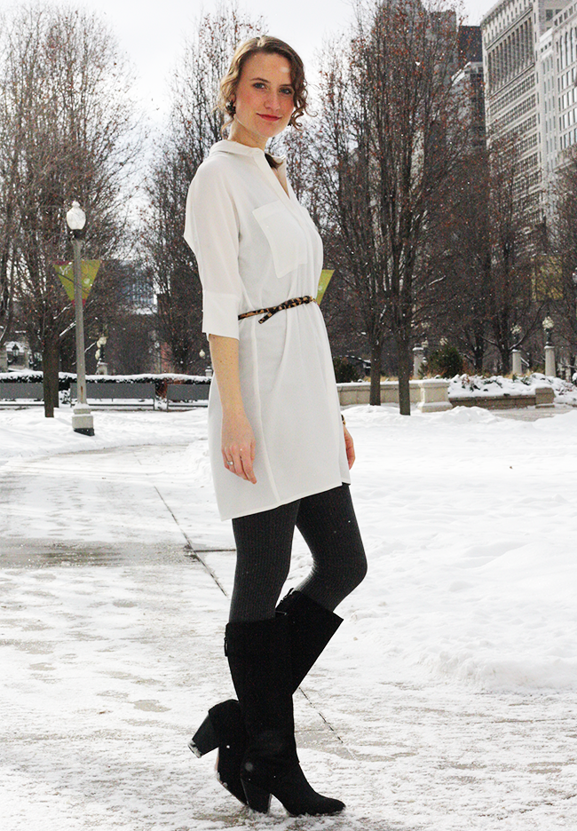How To Wear An Oversized White Blouse 110