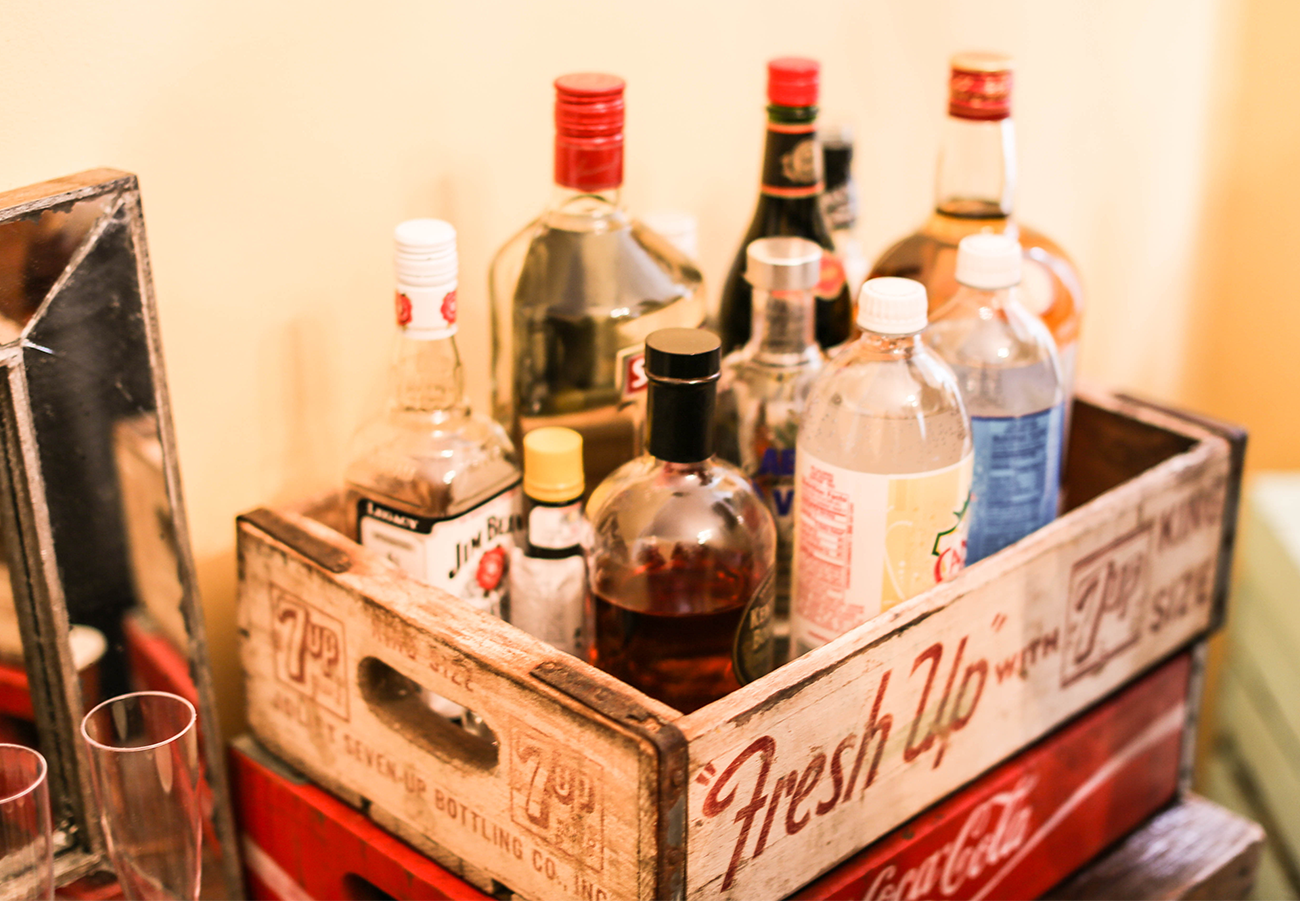 DIY Bar Cart Decorations