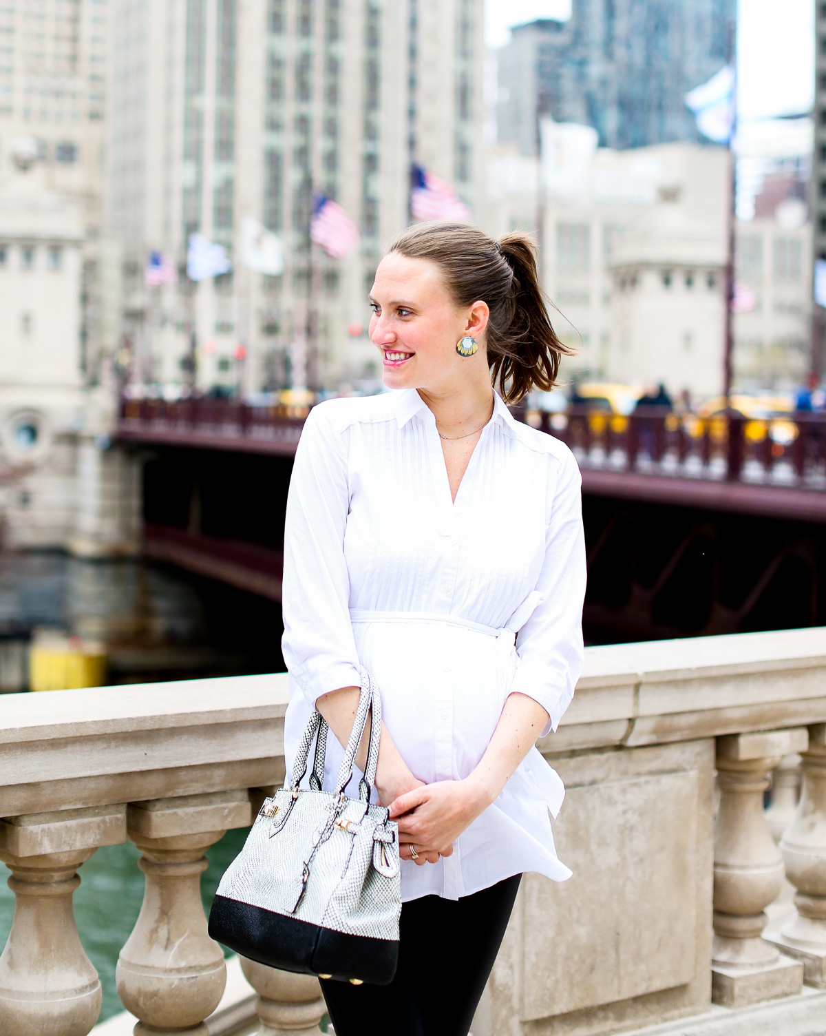 Top Chicago Fashion Bloggers, Pregnancy Style