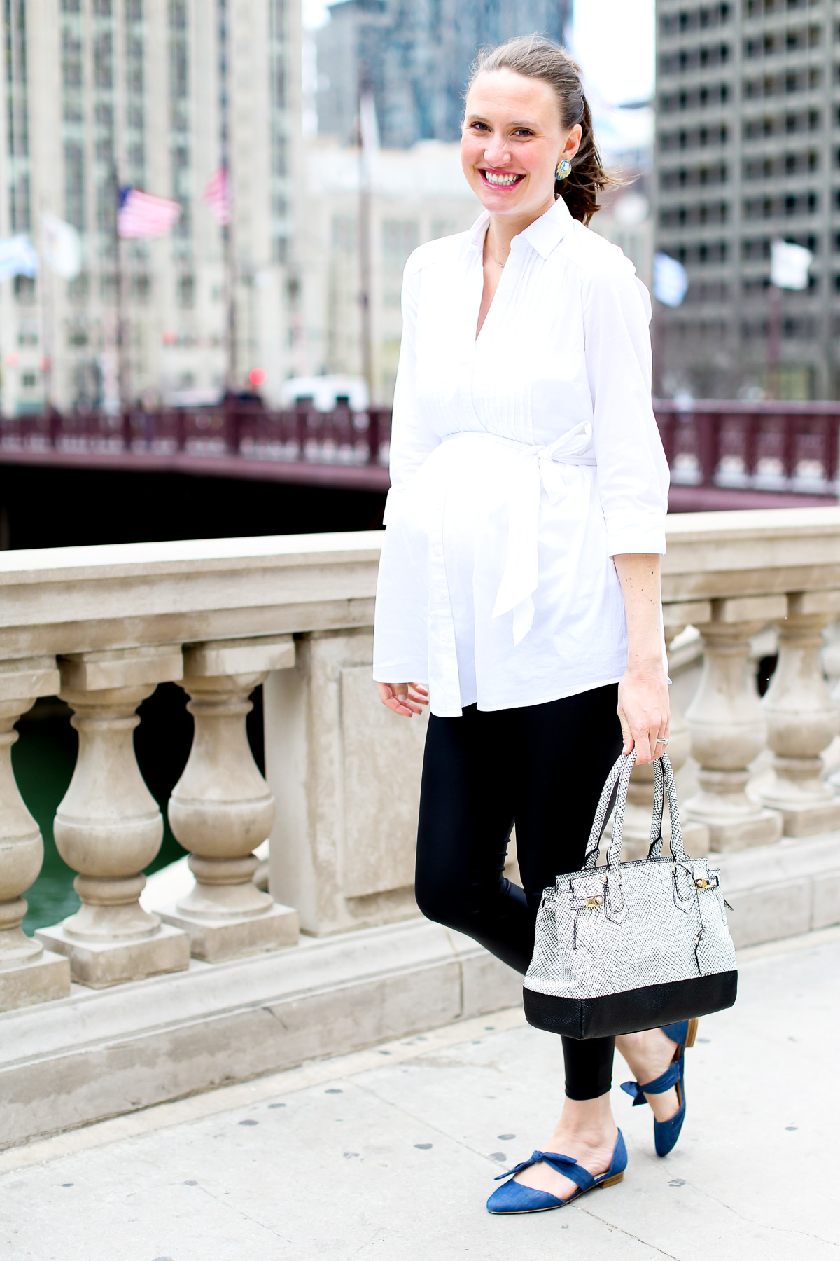 Pregnancy Style, Top US Fashion Bloggers