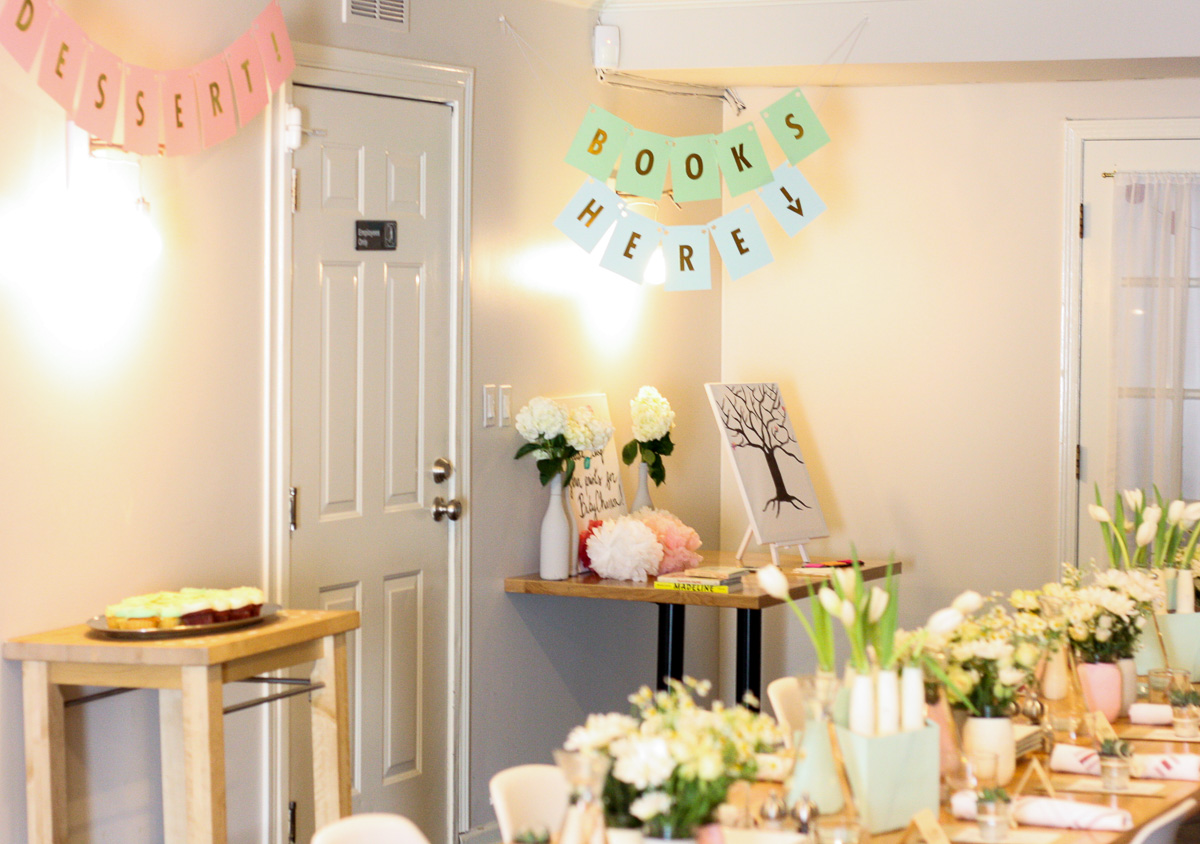 DIY Baby shower ideas