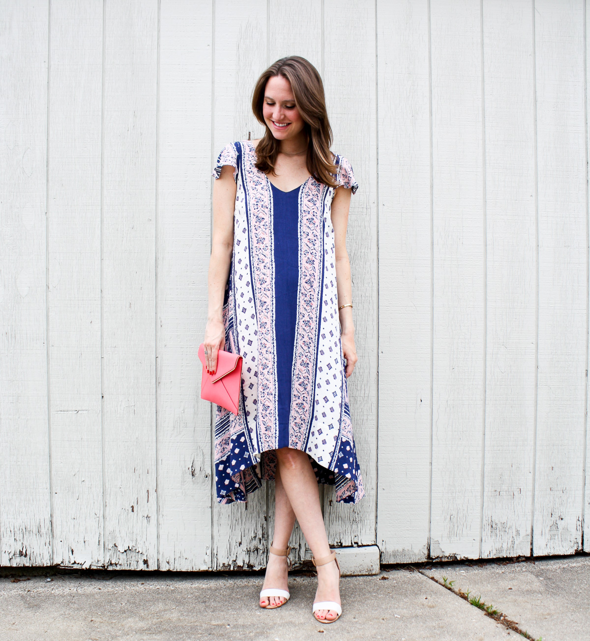 Pregnancy Style, Anthropolgie Dress