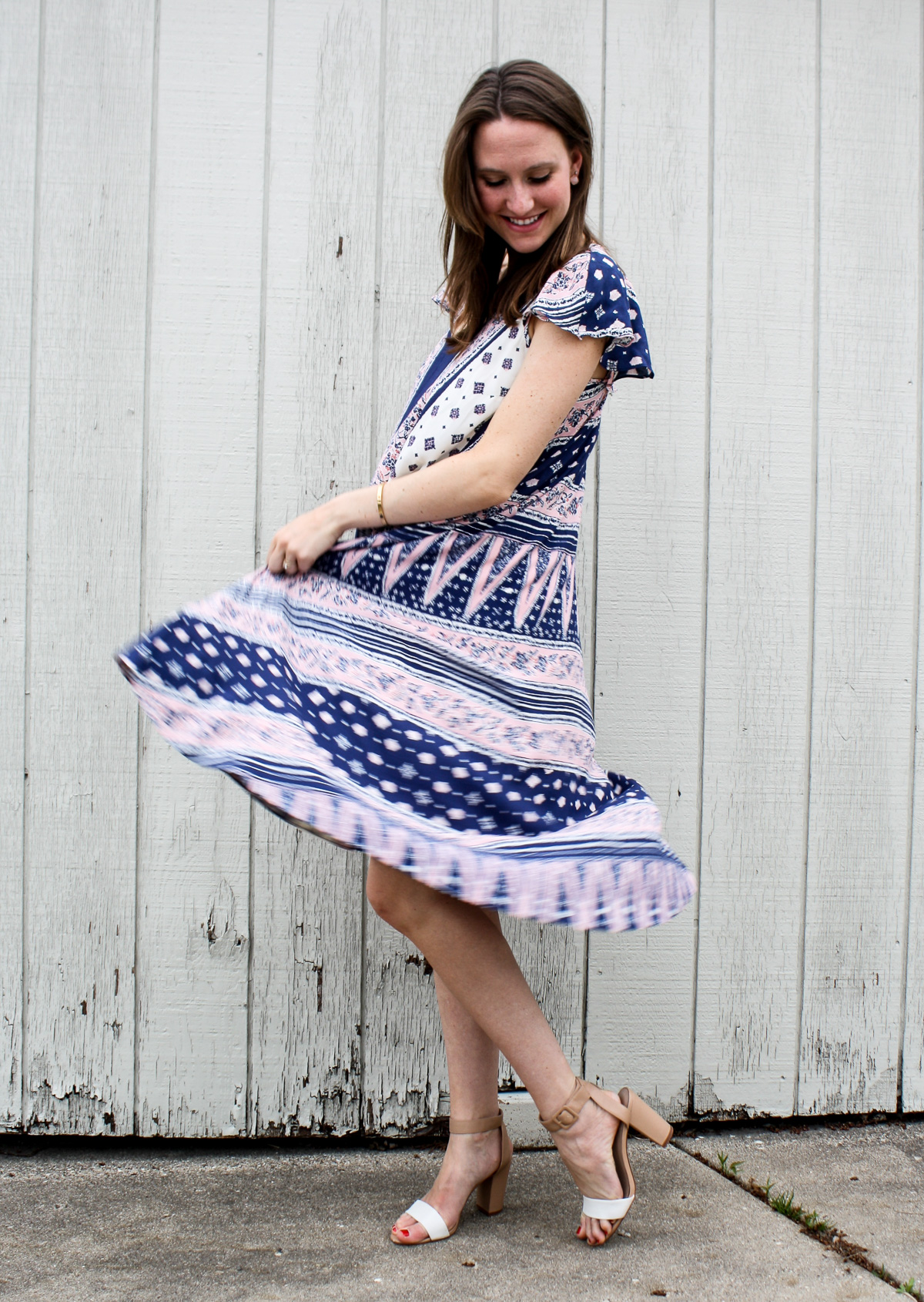 Pregnancy Style_Anthropologie Dress-3