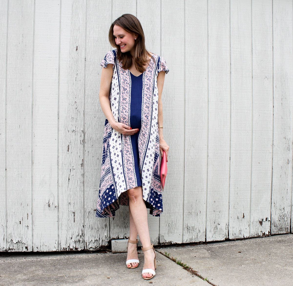 Pregnancy Style_Anthropologie Dress-4