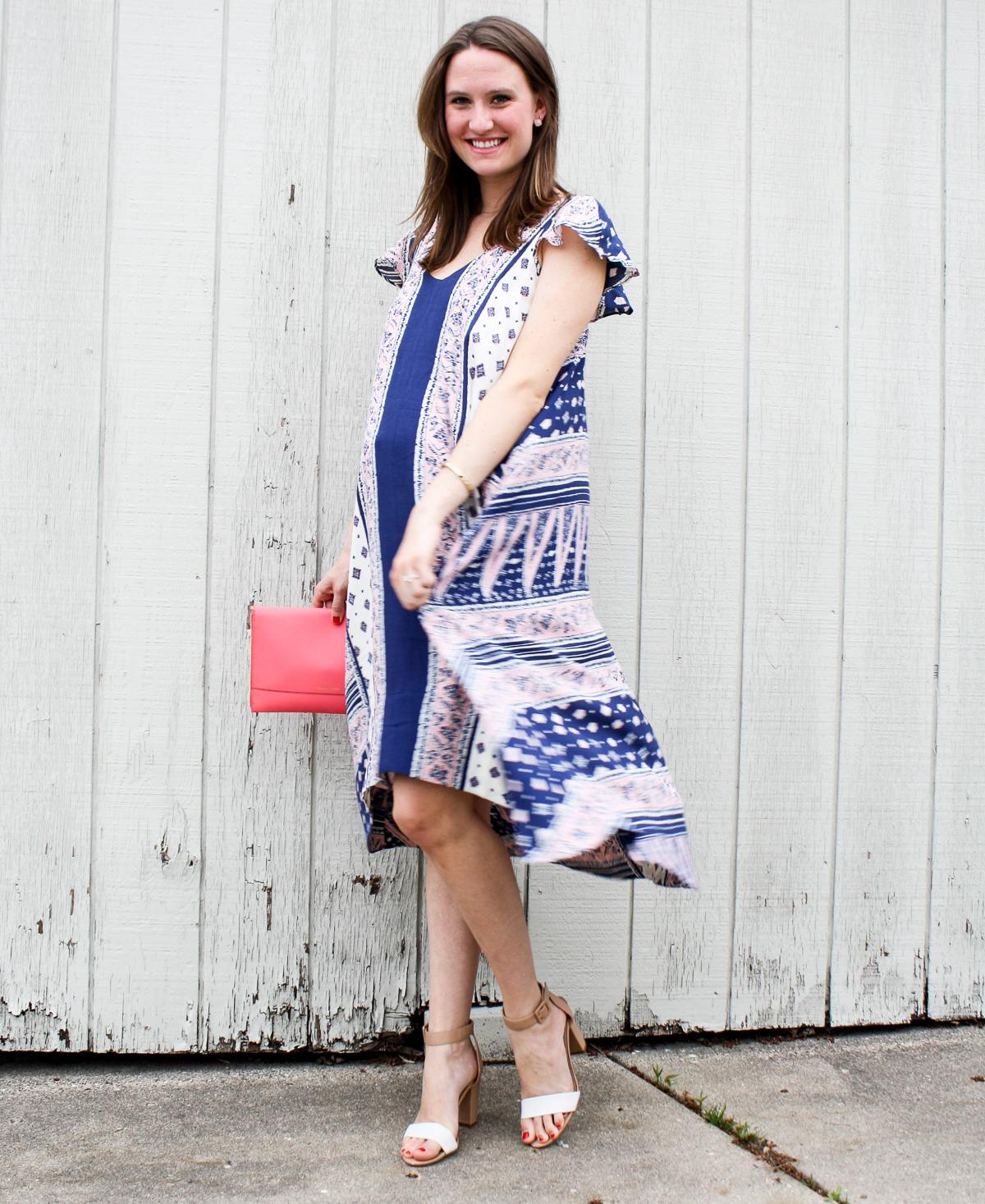 Pregnancy Style_Anthropologie Dress_Twirl in dress-1