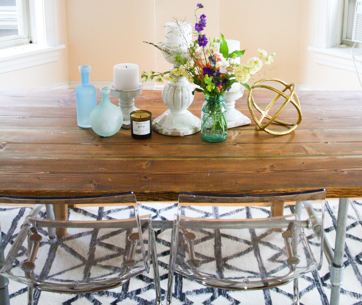 DIY wood table tutorial-1
