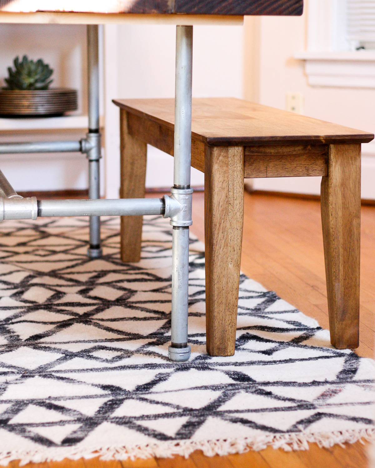 West elm rugs_DIY Dining room table