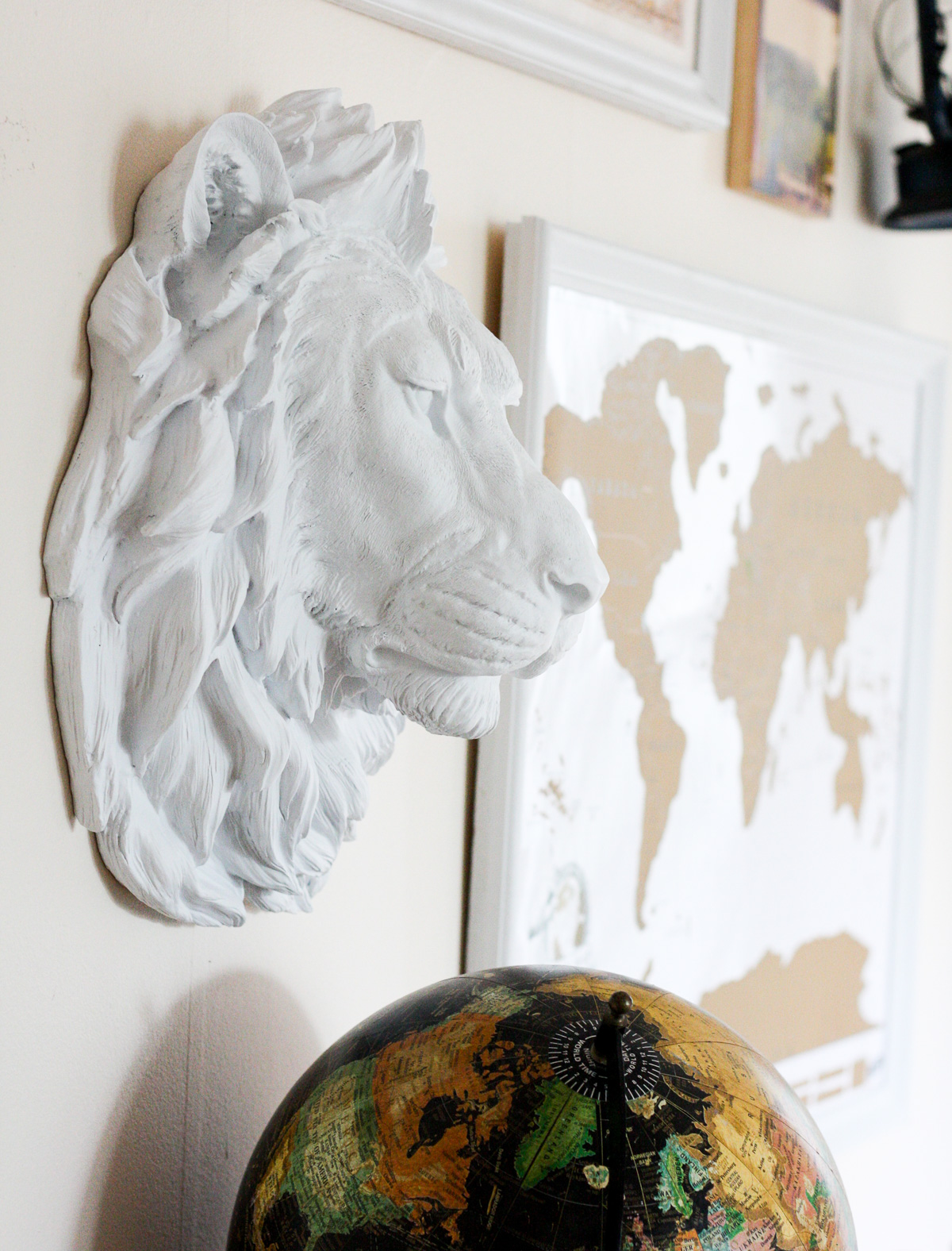 White Faux Taxidermy_Top Interior Design Blog-8