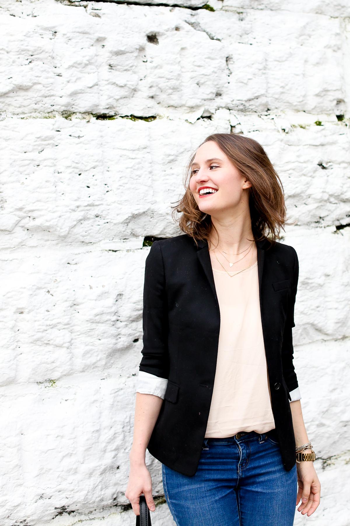 Black Blazer Chicago Fashion Blogger-18