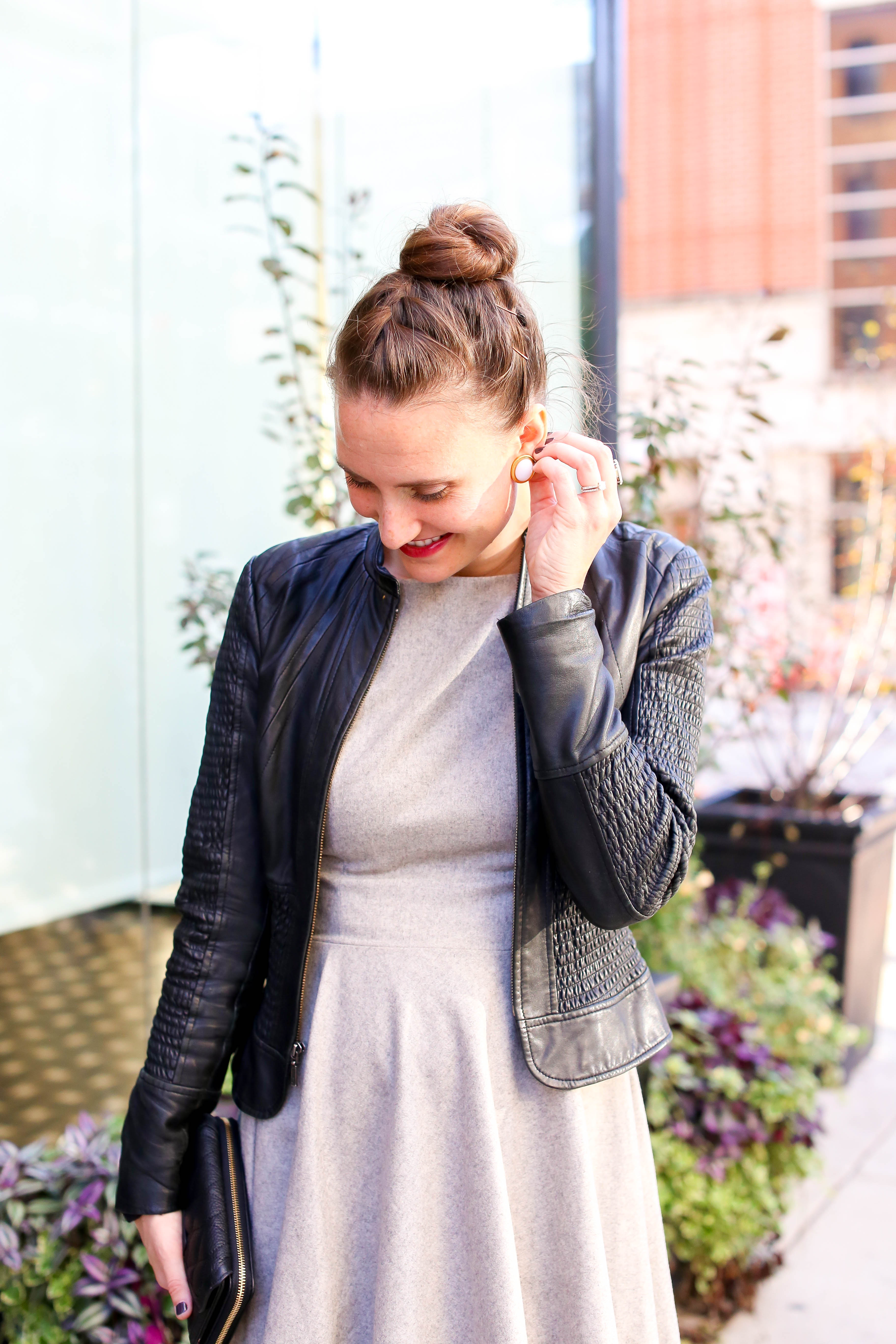 styling-socks-with-heels_black-leather-jacket_2