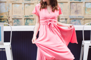 Life Updates + Tie Waist Midi Dress