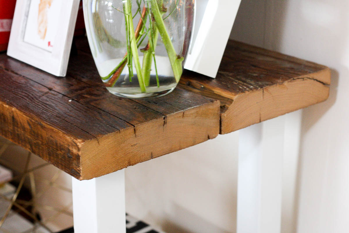 Diy Reclaimed Wood Table Isn T That Charming