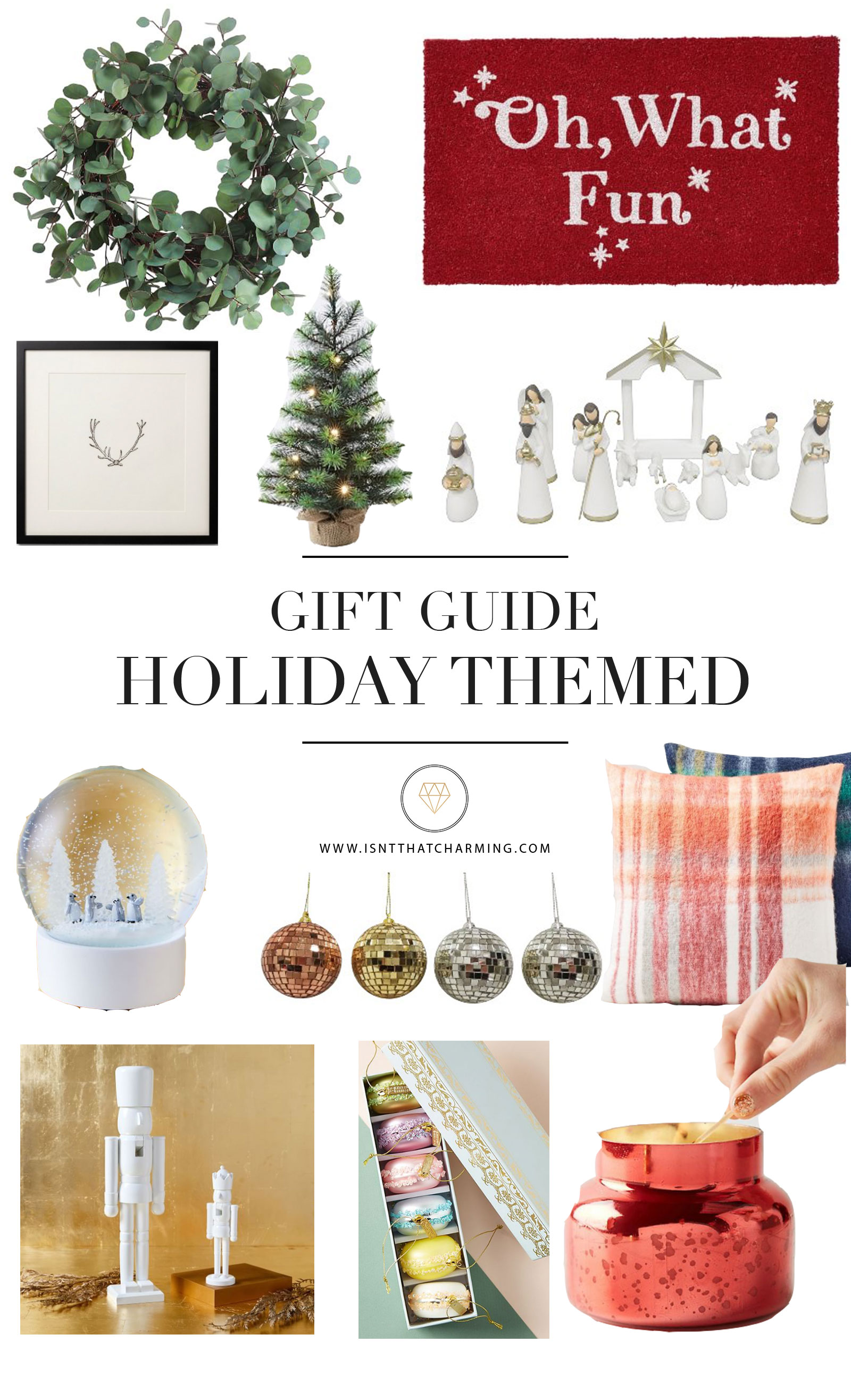 Gift Guide - Holiday Themed | Isn\'t That Charming