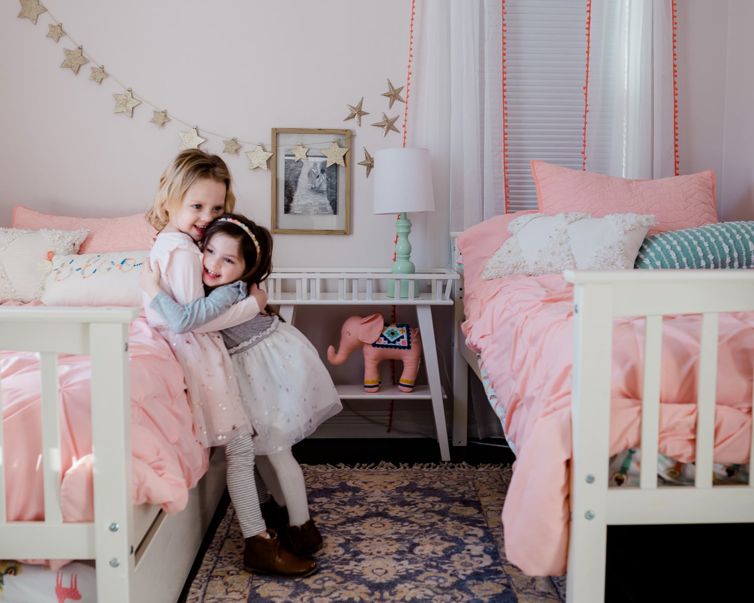 Picture of: Shared Kids Room Decor Reveal Grace And Josephine S